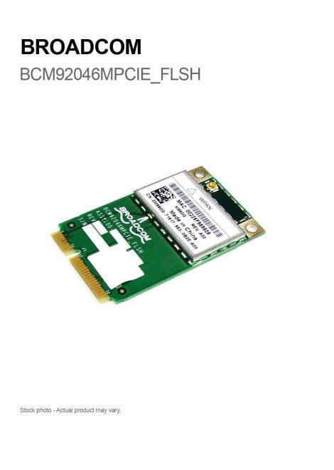 BROADCOM BCM92046MPCIE_FLSH Bluetooth Wireless WPAN Card mini PCI-e