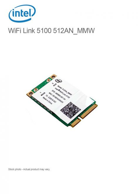 Intel Wifi Link 5100 Mini PCI-e WLAN 512AN_MMW