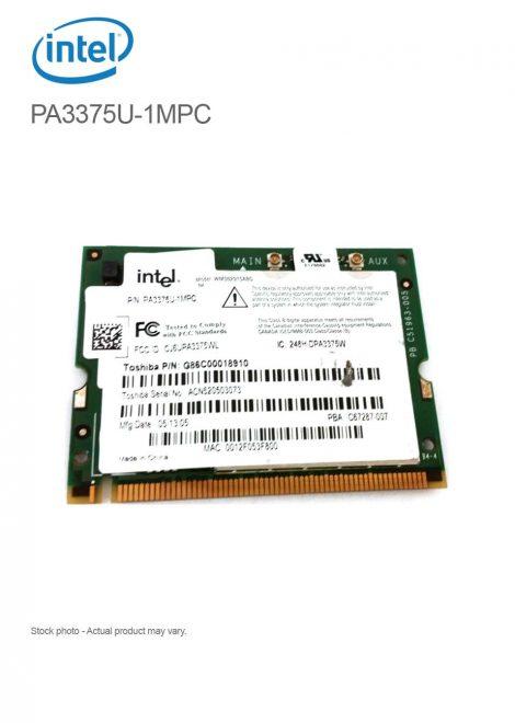 Toshiba Intel G86C00018910 802.11 AG Wireless Mini PCI Card G86C00018910