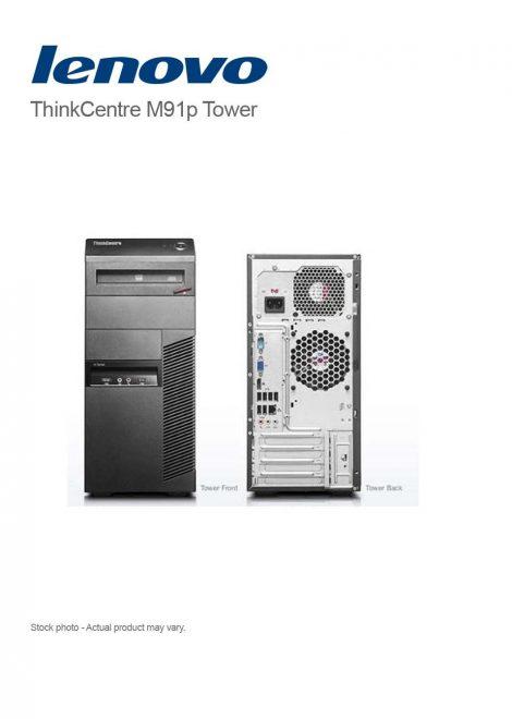 Lenovo ThinkCentre M91p Tower