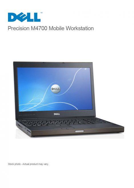 Dell Precision M4700 Mobile Workstation