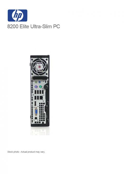 HP Elite 8200 Ultra-slim PC