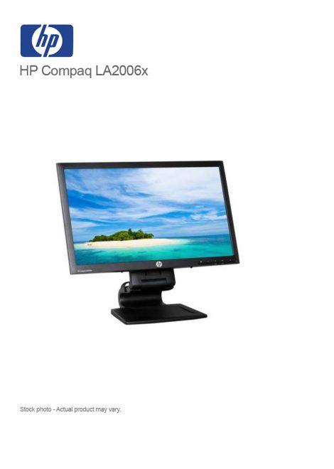 HP Compaq LA2006x 20-inch WLED Backlit LCD Monitor