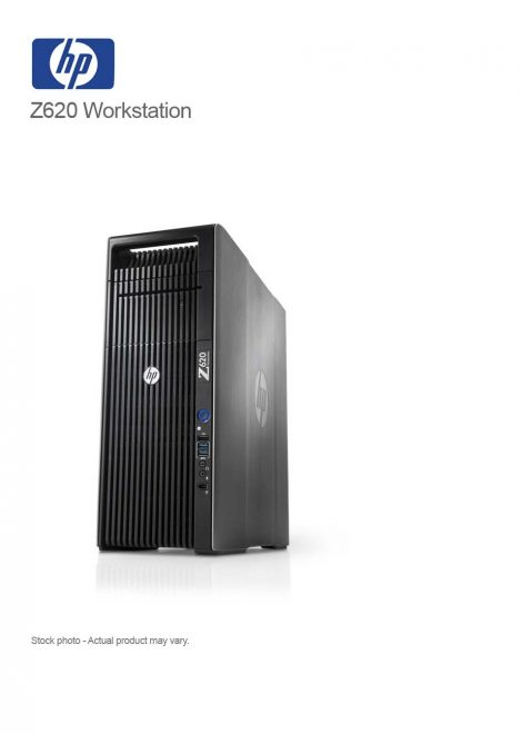 HP Z620 Workstation Tower