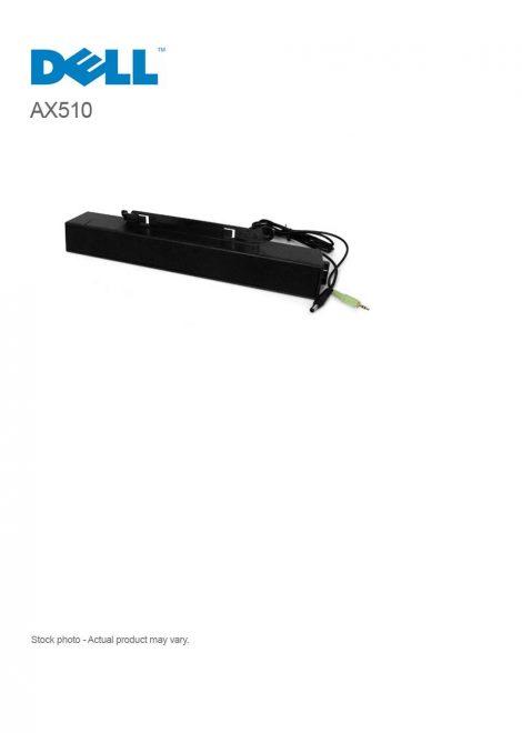 Dell AX510 Sound Bar - PC multimedia speakers 10 Watt