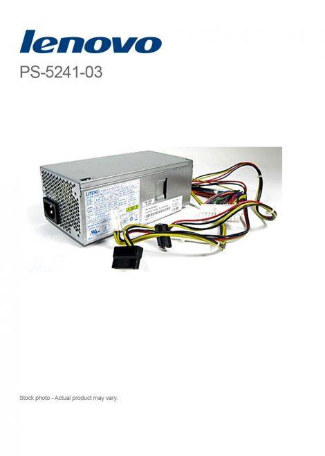Lenovo 240W PSU PS-5241-03 for ThinkCentre M81 M91p SFF - 54Y8824