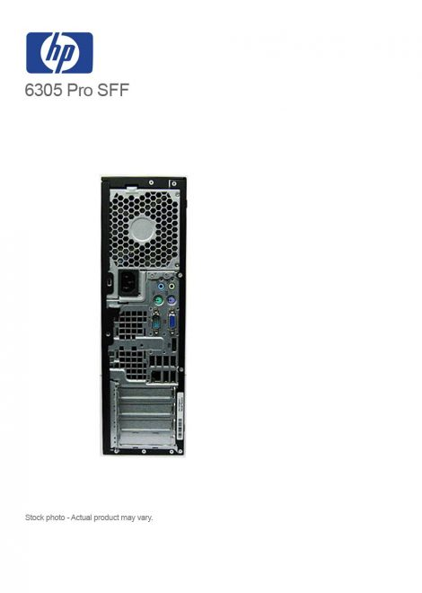 HP Compaq 6305Pro Business PC SFF