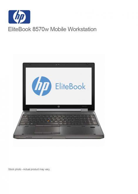 EliteBook 8570w Mobile Workstation