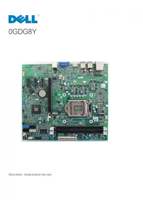Dell Inspiron 620 System Motherboard W/O CPU CN-0GDG8Y