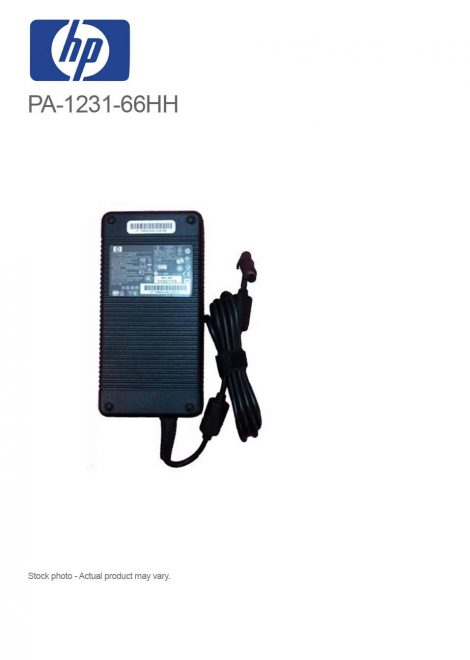 Original 230W 19.5V 11.8A HP PA-1231-66HH AC Adapter Charger with Power Cord
