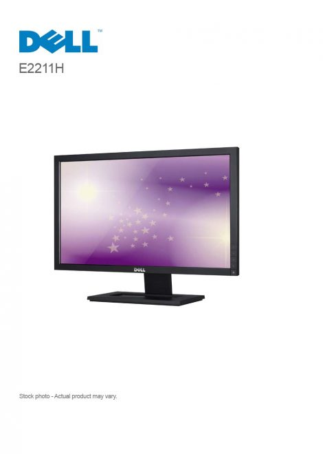 "Dell E2211H 21.5"" Monitor with LED"